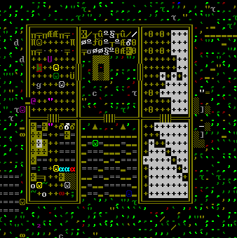Простая крепость в Dwarf Fortress, часть 3. Carnalhall Dwarf fortress, Ascii, Дворфы, Длиннопост