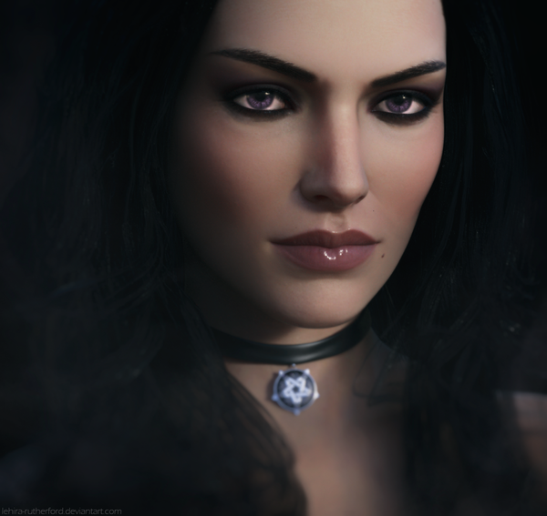 Yennefer of Vengerberg by Lehira-Rutherford арт, Ведьмак, ведьмак 3, Йеннифер