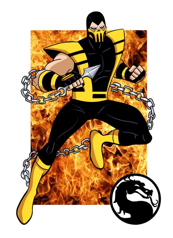 It has begun! Mortal kombat, DeviantArt, герои мультиков, арт, персонажи игр, длиннопост