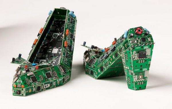 Искусство из микросхем Габриэля Дишоу. Длиннопост, Современное искусство, электроника, микросхема, радиодетали, необычное, картинки, Ремонт техники