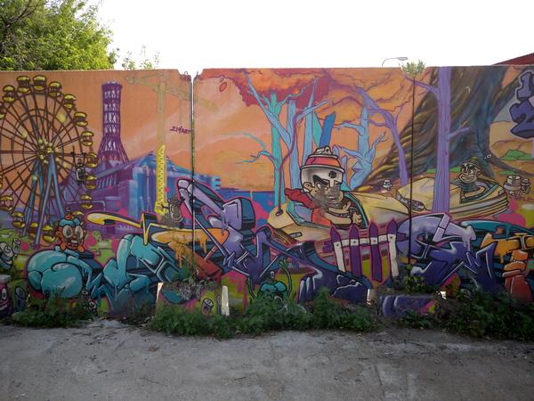 Случайно увидел красивые граффити граффити, красота, длиннопост