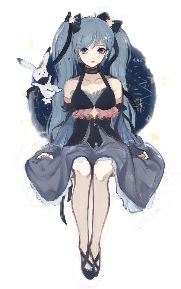 Любить прежде всего это красиво Anime Art, аниме, Anime Original, Hatsune Miku, vocaloid, длиннопост