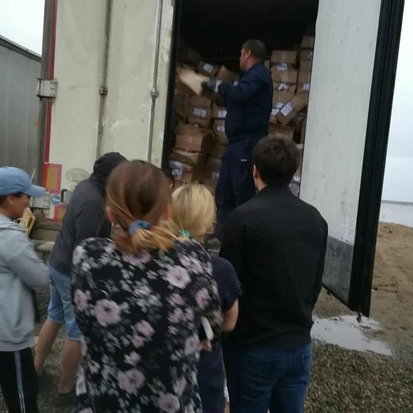 Как в Якутске продавали мороженое якутск, Якутия, переправа, фура, Мороженое, Видео, длиннопост
