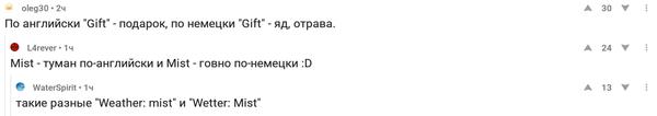 В Петербурге почти всегда mist комментарии на  пикабу, Комментарии, погода, трудности перевода