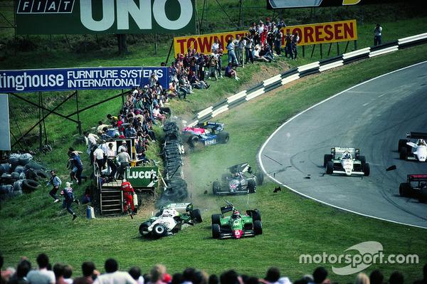 Фотографии Формулы-1 из архива Райнера Шлегельмильха Авто, Автоспорт, Формула 1, Фотография, Длиннопост