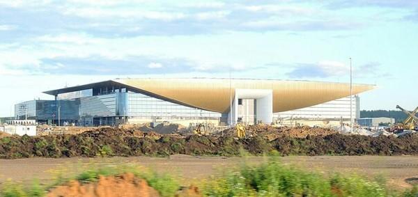 Новый пермский аэропорт! Пермь, аэропорт