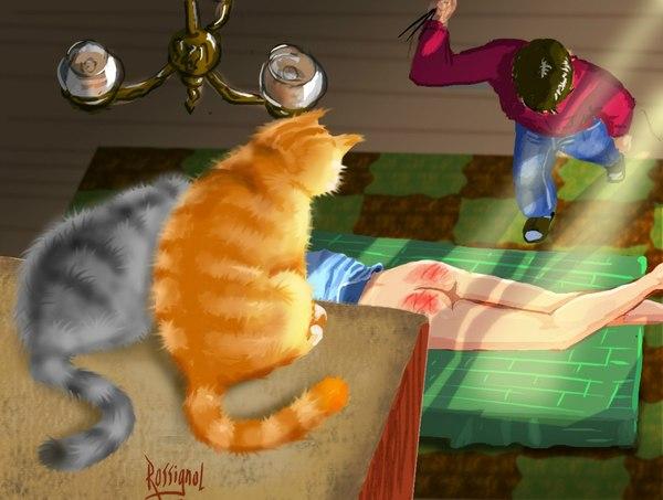 Про котов и попы