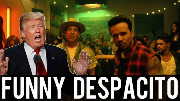 """Смешная подборка неудачных попыток спеть """"Despacito"""" видео, прикол, облом, fail, подборка"""