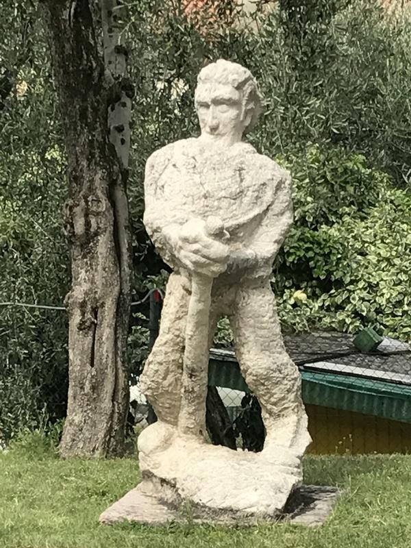 Мастер пикапа пикап, пикап-мастер, скульптура, Италия, длиннопост