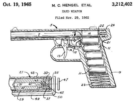 Реактивный пистолет - GYROJET Оружие, Пистолеты, Реактивный, Длиннопост