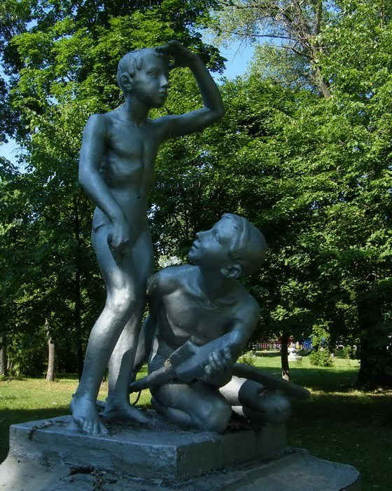 Угол обзора фотография, Памятник, очень странные дела, Фантазия, длиннопост