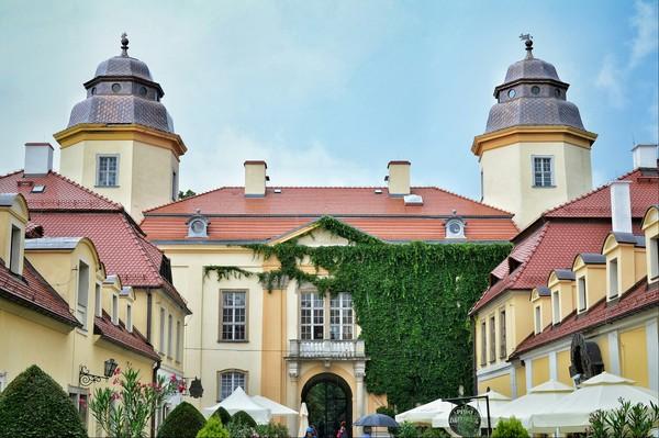 Замок Ксенж в Польше. Замок, Польша, Snapseed, Архитектура, Без головы, Длиннопост