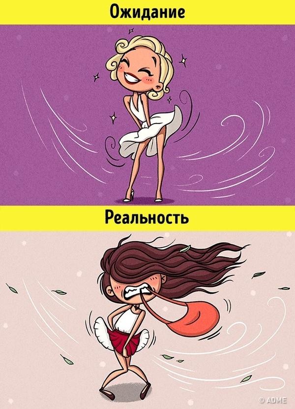 Каково быть девушкой летом :) ©adme.ru девушки, лето, жара, adme, жизненно, длиннопост