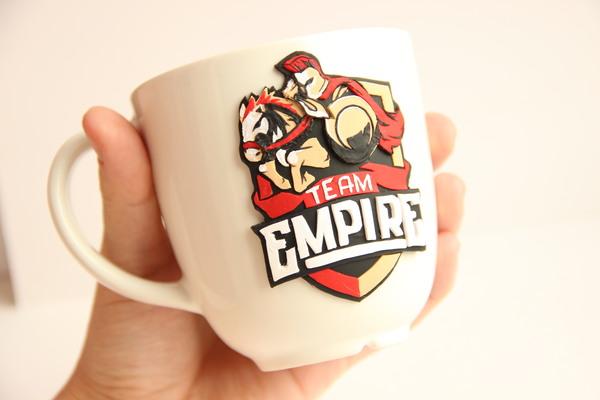 """Кружка для фанатов """"Team Empire"""". Ручная работа. Team Empire, ручная работа, handmade, рукоделие без процесса"""