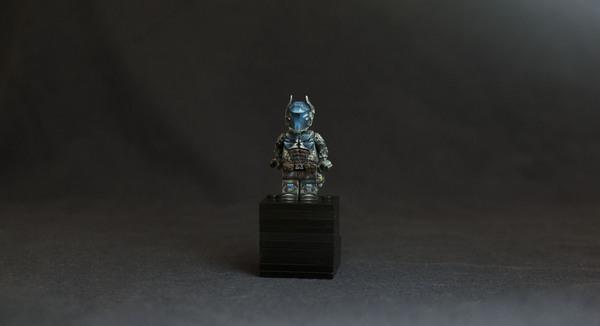 Фигурка Рыцаря Аркхэма в лего. lego, кастом, моё, Рыцарь Аркхэма, лего-бэтмен, бэтмен, длиннопост, рукоделие с процессом
