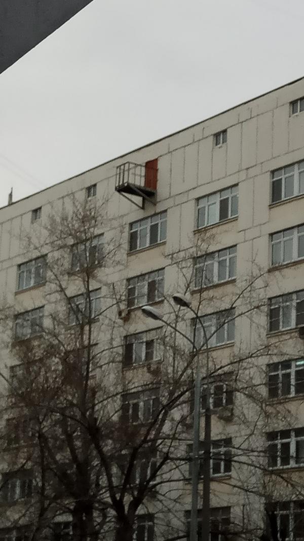 Зачем?! больница, Москва, балкон, зачем