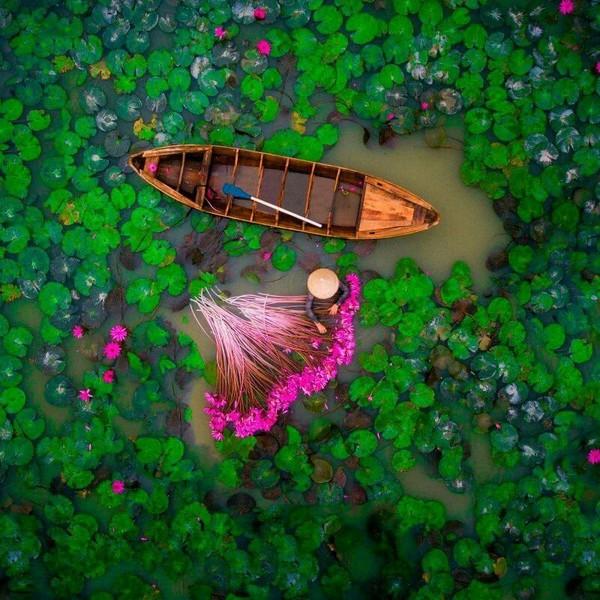 Озеро во Вьетнаме