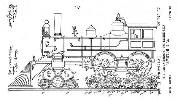 Уильям Холман, паровозный аферист ретро, история, техника, паровоз, афера