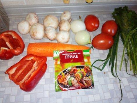 Куриные шеи с овощами моё, кулинария, курица, шеи, первый длиннопост, длиннопост