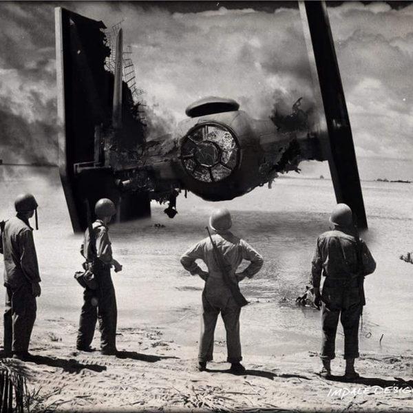 Пляж Омаха, Нормандия. 6 июня 1944 год.