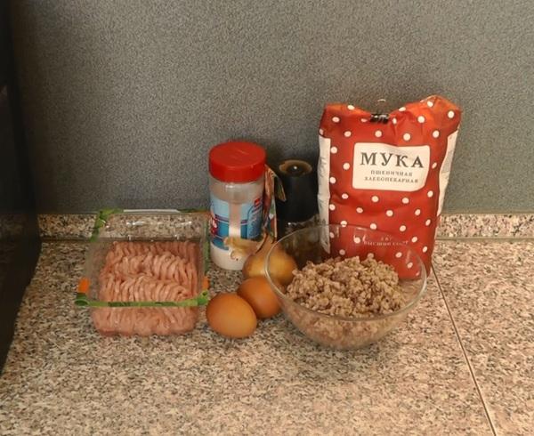 Гречаники - рецепт для фанатов гречки! еда, кулинария, рецепт, Гречка, соль и перец, готовим дома, видео рецепт, видео, длиннопост