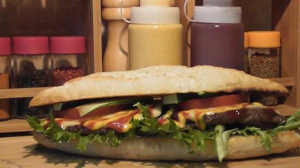 Бутерброд с паштетом, мясом и овощами (рецепт) горячие бутерброды, Бутерброд, еда, кулинария, фастфуд, видео, длиннопост