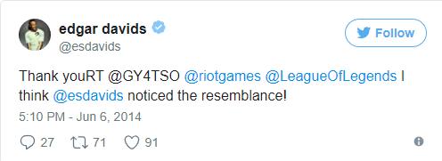 Новый забавный факт о суде между Riot Games и Эдгаром Давидсом League of Legends, Riot games, Эдгар Давидс, Скины