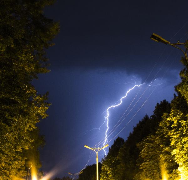 Моя первая гроза фотография, гроза, Молния, погода, длиннопост