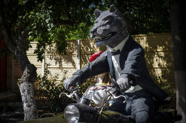 Волк с Нижнего Новгорода волк, Нижний Новгород, мотоциклист, мотоциклы, длиннопост