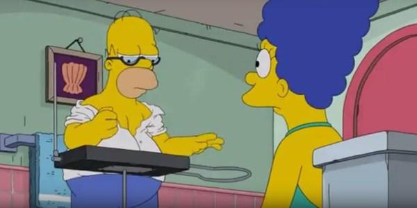 Терменвокс и Симпсоны терменвокс, симпсоны, Гомер Симпсон, музыкальные инструменты