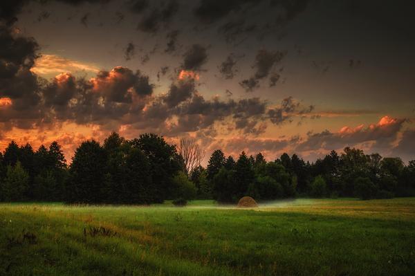 Просторы Природа, пейзаж, радуга, длиннопост