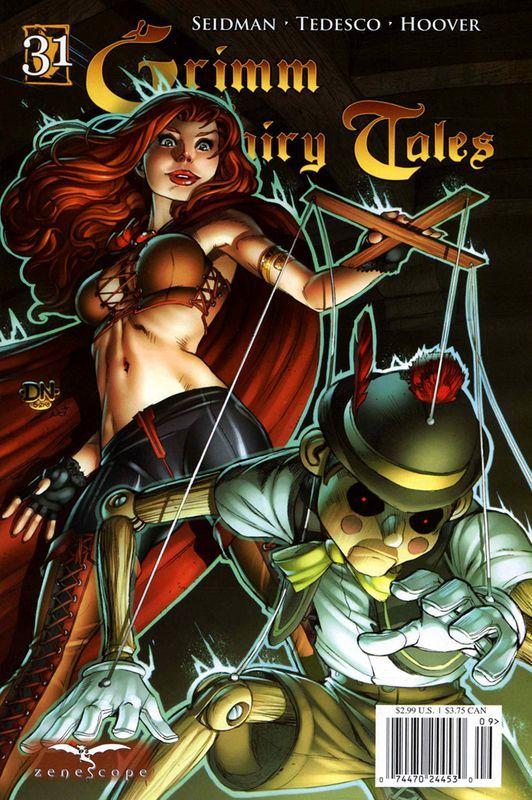 Grimm Fairy Tales, выпуск #31: «Пиноккио» сказка, комиксы, Grimm Fairy Tales, графические новеллы, сказки на новый лад, Пиноккио, длиннопост