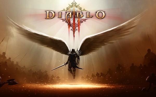 В Киеве монумент в честь бойцов АТО украсили изображением из Diablo III Политика, Украина, Киев, АТО, Diablo III, воровство, архангел, russia today, видео, длиннопост