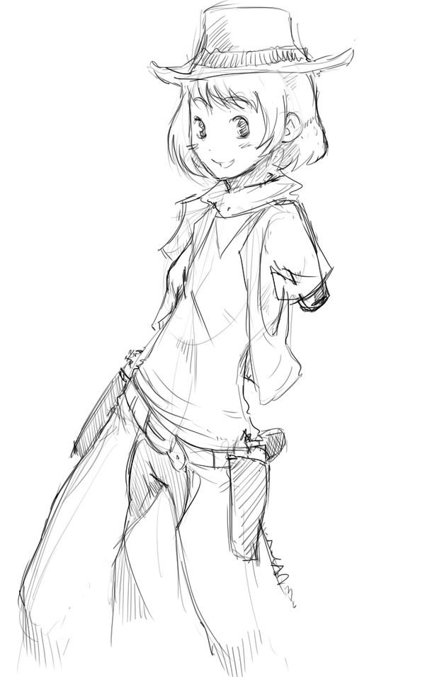 Cowgirl Rin!