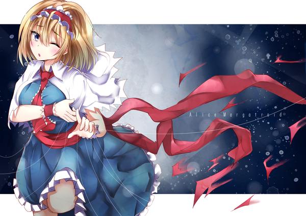 Alice Margatroid Alice Margatroid, Touhou, Anime Art, Тохо, Аниме, Не аниме