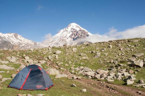 Доброе утро на Казбеке горы, казбек, красота, доброе утро