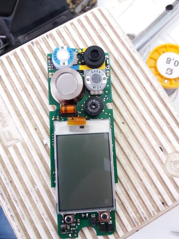 """Измериловка: ремонт газоанализатора """"Drager X-am 2000"""" ремонт электроники, газ, диоксид углерода, самара, длиннопост"""