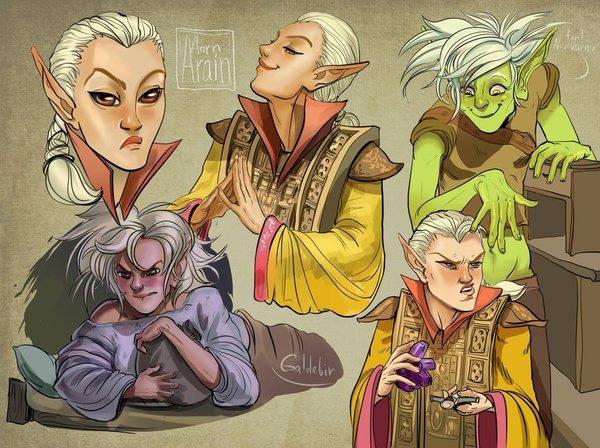TES III: Galdebir by ArainMorn The Elder Scrolls, Morrowind, арт, DeviantArt