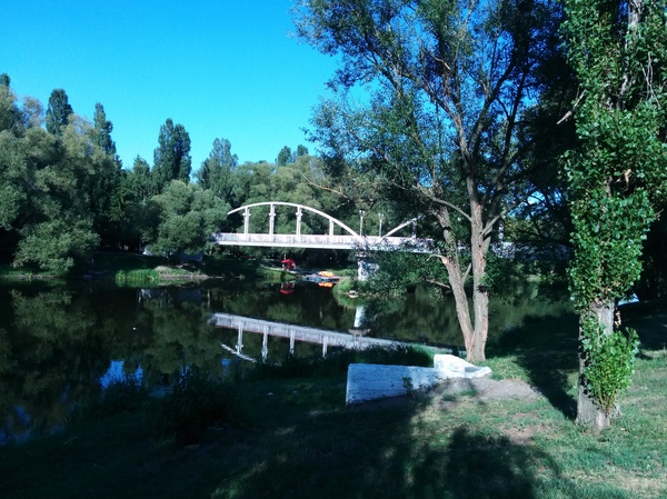 Мост, соединяющий времена Белгород, парк Победы, парк Котофея, история, фотография, длиннопост