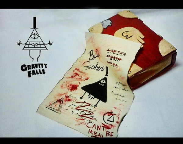 """Кошелёк """"Дневник"""" Gravity Falls, дневник, кошелек, eva, рукоделие без процесса, ручная работа, длиннопост"""