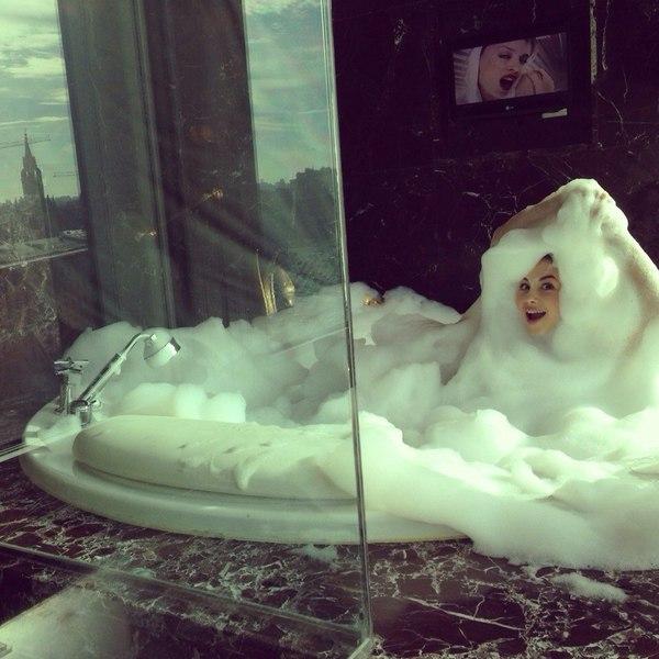 Когда обожаешь принимать ванну