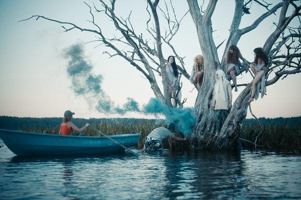 Фотопроект Славянская мифология - немного бекстейджа длиннопост, бекстейдж, фотография, селигер