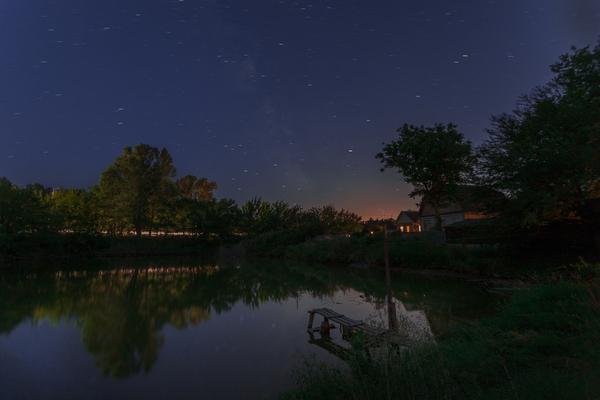 Звездное озеро .
