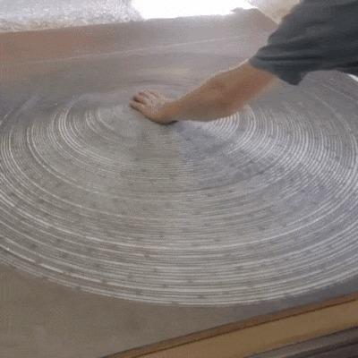 Алюминиевая спираль гифка, алюминий, интересное