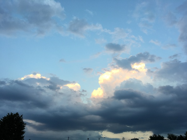 Просто небо... Небо, облака, красота природы