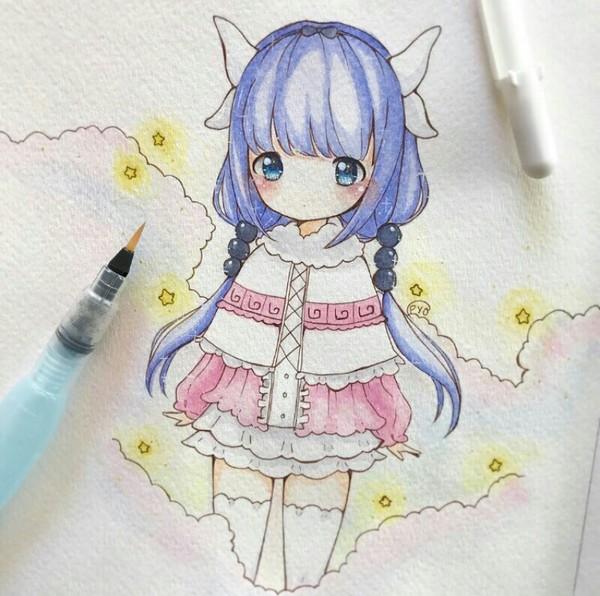 Kanna Kamui anime art
