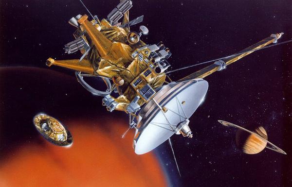 Зонд Cassini начал спуск в атмосферу Сатурна ТАСС, Кассини, Сатурн, космос, NASA, длиннопост