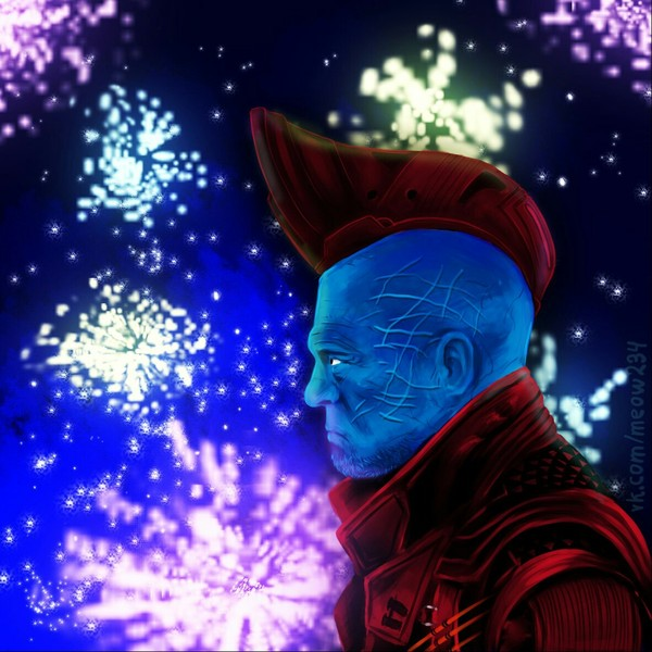 Йонду Удонта Стражи Галактики 2, йонду, Йонду Удонта, фан-арт