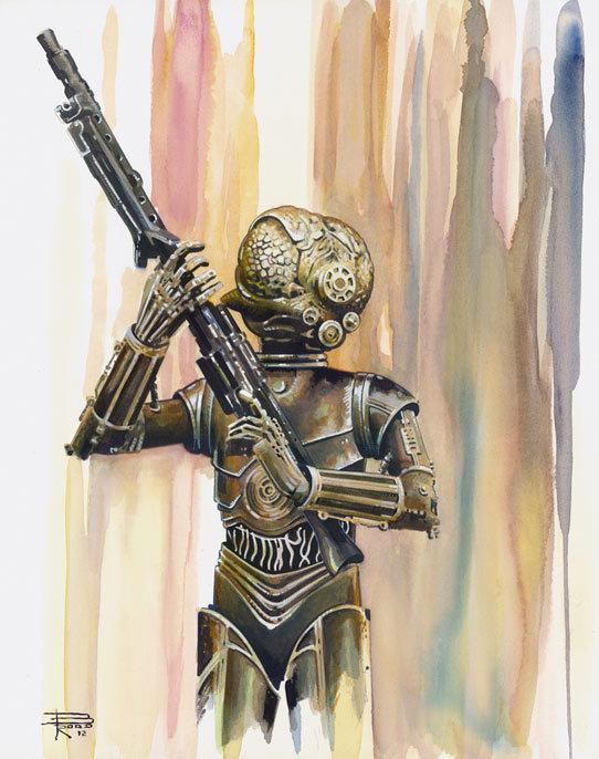 Свежего арта пост Star Wars, boba95fet, арт, длиннопост