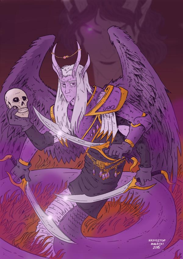 Демон-примарх Фулгрим